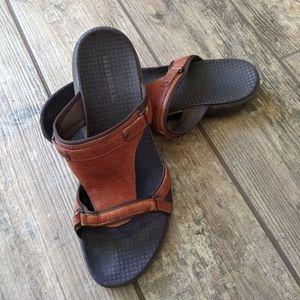 Merrell   Glade Autumn Tan Leather Sandals